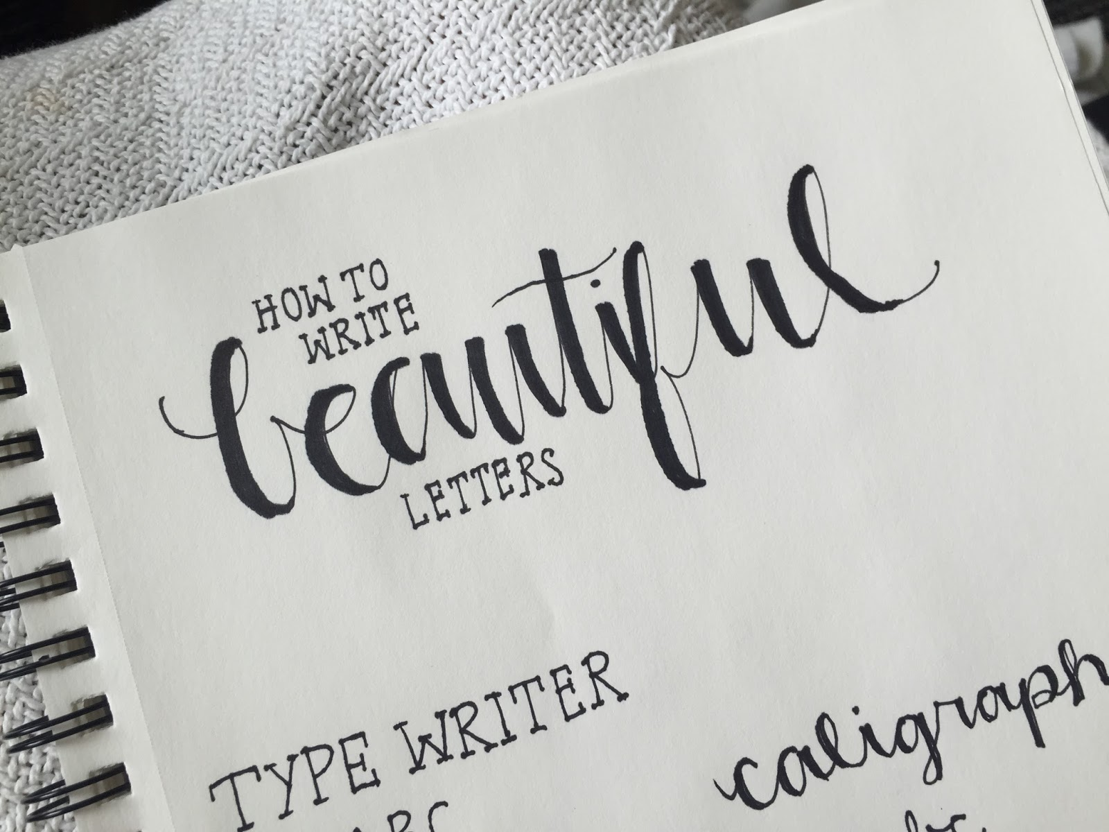 Calligraphy Alphabet Copperplate