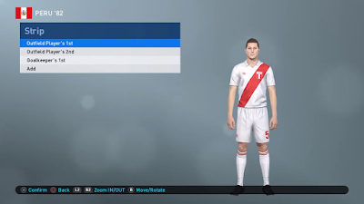 PES 2019 PS4 Classic Option File FIFA World Cup 1982 by Zsolt72