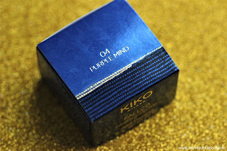 Review: KIKO Fall Collection LE - Magnetic Exeshadows - 04 Purple Mind - www.annitschkasblog.de