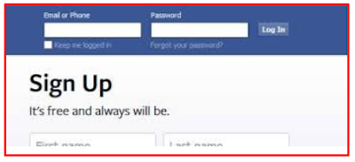 Facebook Sign Up Facebook Login