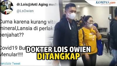 dr Lois Akan Bubarkan IDI dan Cabut Izin Praktek Nakes yang Salah: Saya Punya Kuasa Penuh