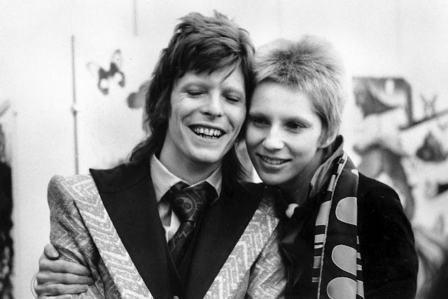 David and Angie Bowie: Globe Photos/MediaPunch /IPX/AP Images