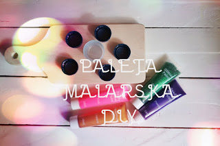 Paleta malarska DIY