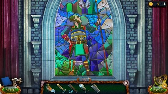 окончательный рисунок витража в игре затерянные земли 4 скиталец
