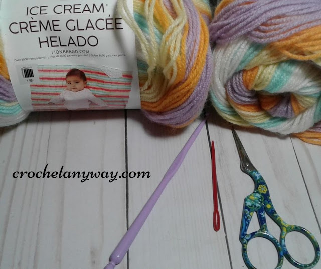 materials for baby blanket