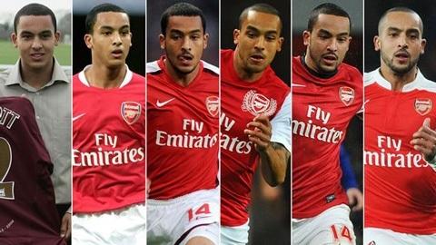 Walcott - trưởng thành ở Arsenal