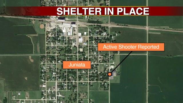 An active shooter was reported in Juniata ,Nebraska,US