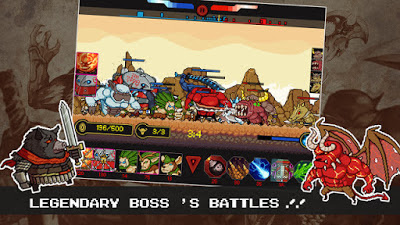 Monsters X Monsters v 1.0.0 MOD Apk - screenshot-3