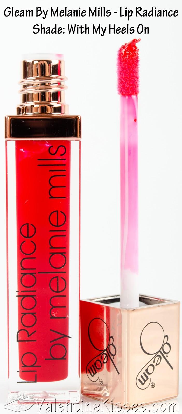 Gleam Reviews Photos: Valentine Kisses: Gleam By Melanie Mills Lip Radiance