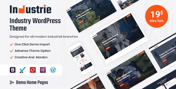 Best Industry WordPress Theme