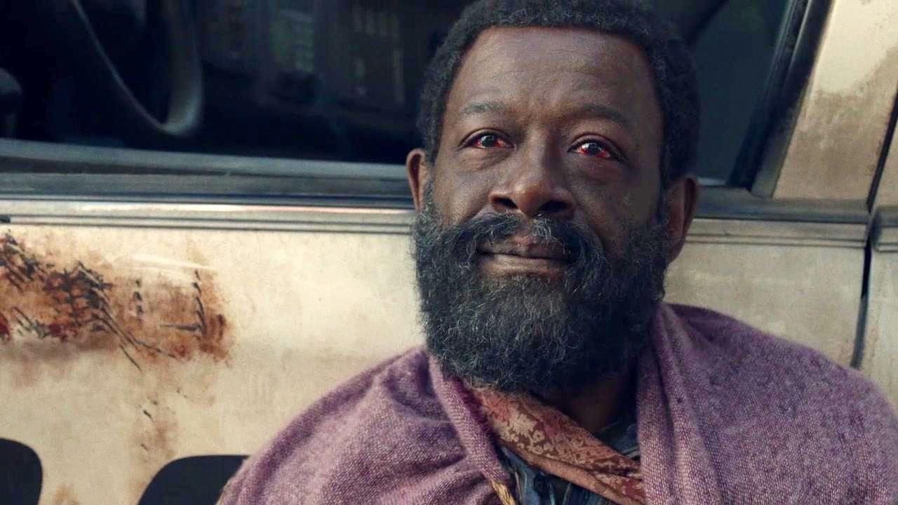 Morgan, malherido en el episodio 6x01 de Fear The Walking Dead