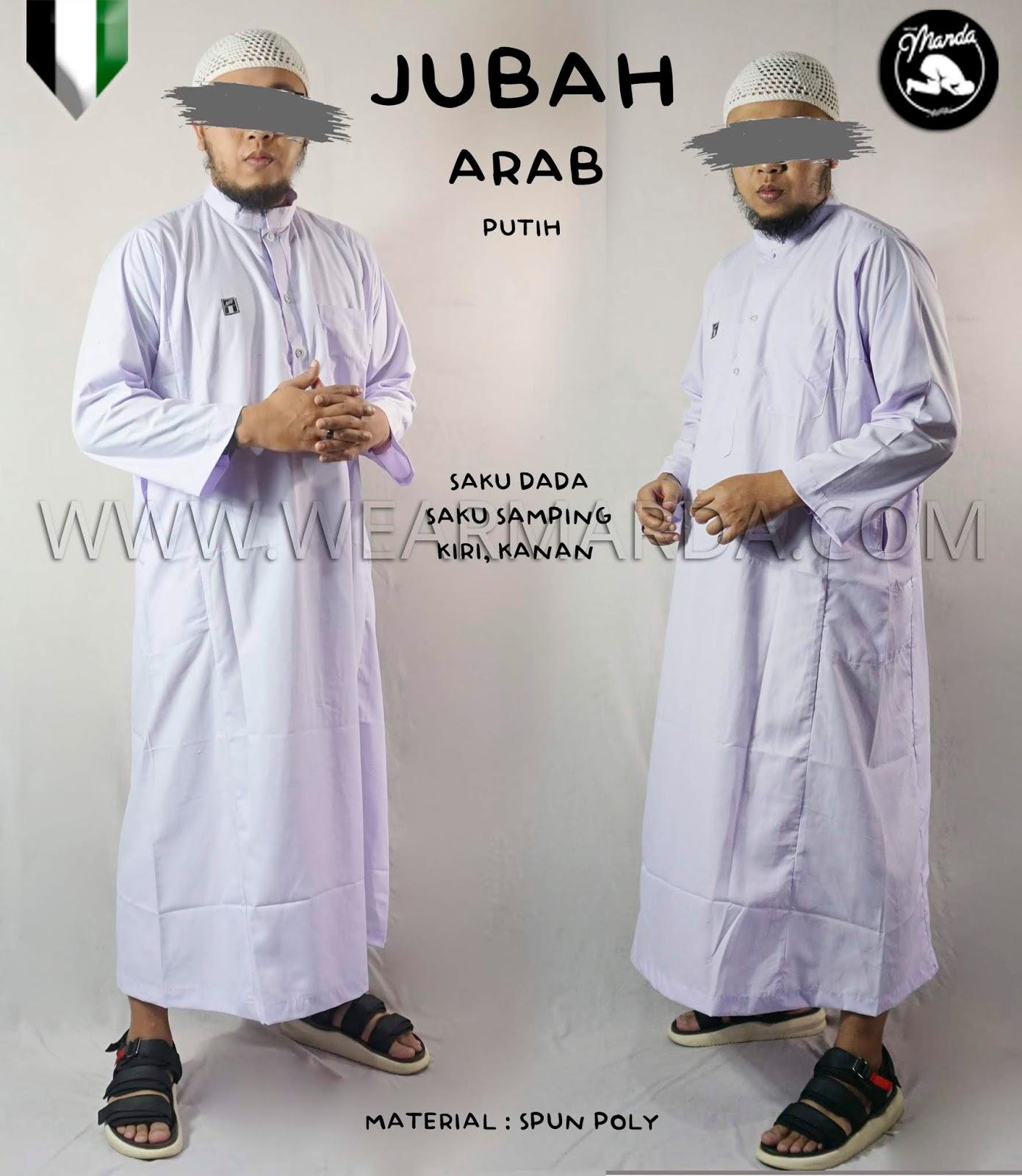 JUBAH ARAB PUTIH