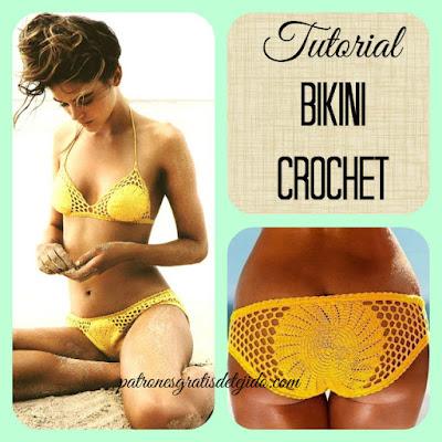 Bikini tejida al crochet paso a paso