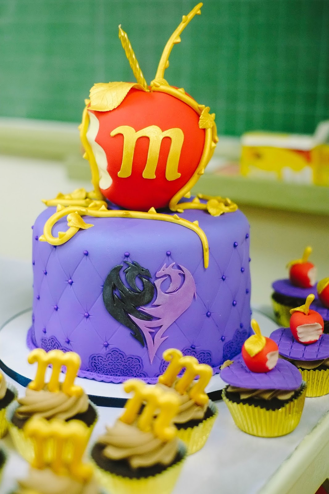 Maias 8th Disney Descendants Themed Birthday Party Rockstarmomma