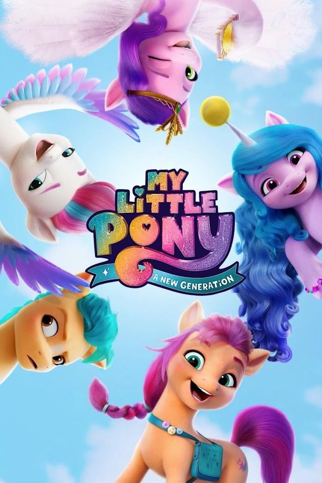My Little Pony A New Generation 2021 x264 720p WebHD Esub AAC English Hindi THE GOPI SAHI