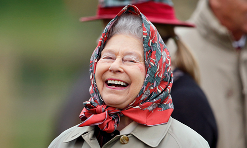 What American guests did not think of when meet the Queen of England