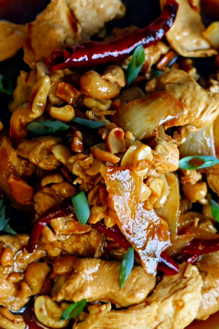 Thai Chicken Cashews Recipe