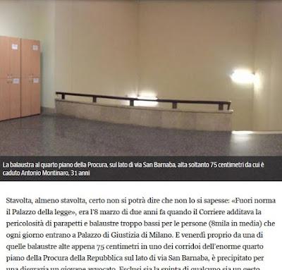 https://milano.corriere.it/19_gennaio_19/al-tribunale-milano-avvocato-cade-quarto-piano-allarmi-inascoltati-91f7957e-1bb1-11e9-8b25-c65404620788.shtml