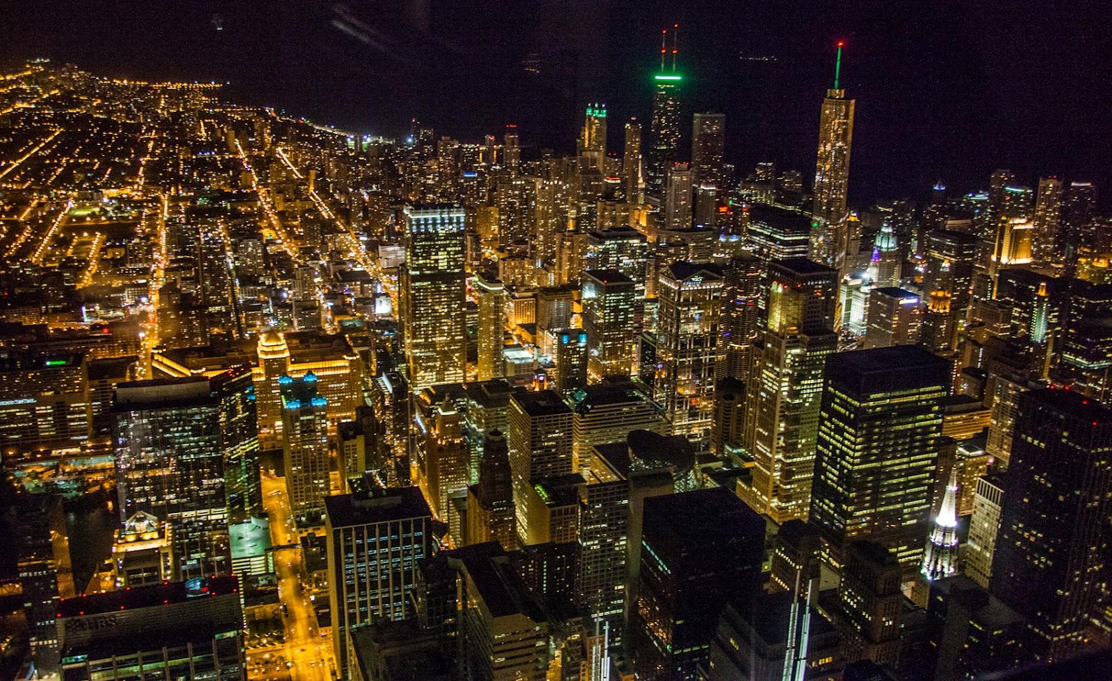 My Musings: Pizza And City Lights