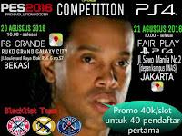 Info Kompetisi PES 2016 di Jakarta dan Bekasi Agustus 2016