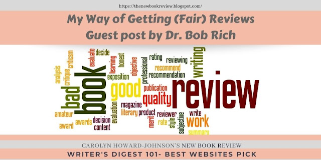 Author Dr. Bob Rich Offers His Book Review Secrets
