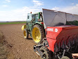 ERME pneumatic garlic planter