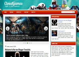 Cloud Games Blogger Template