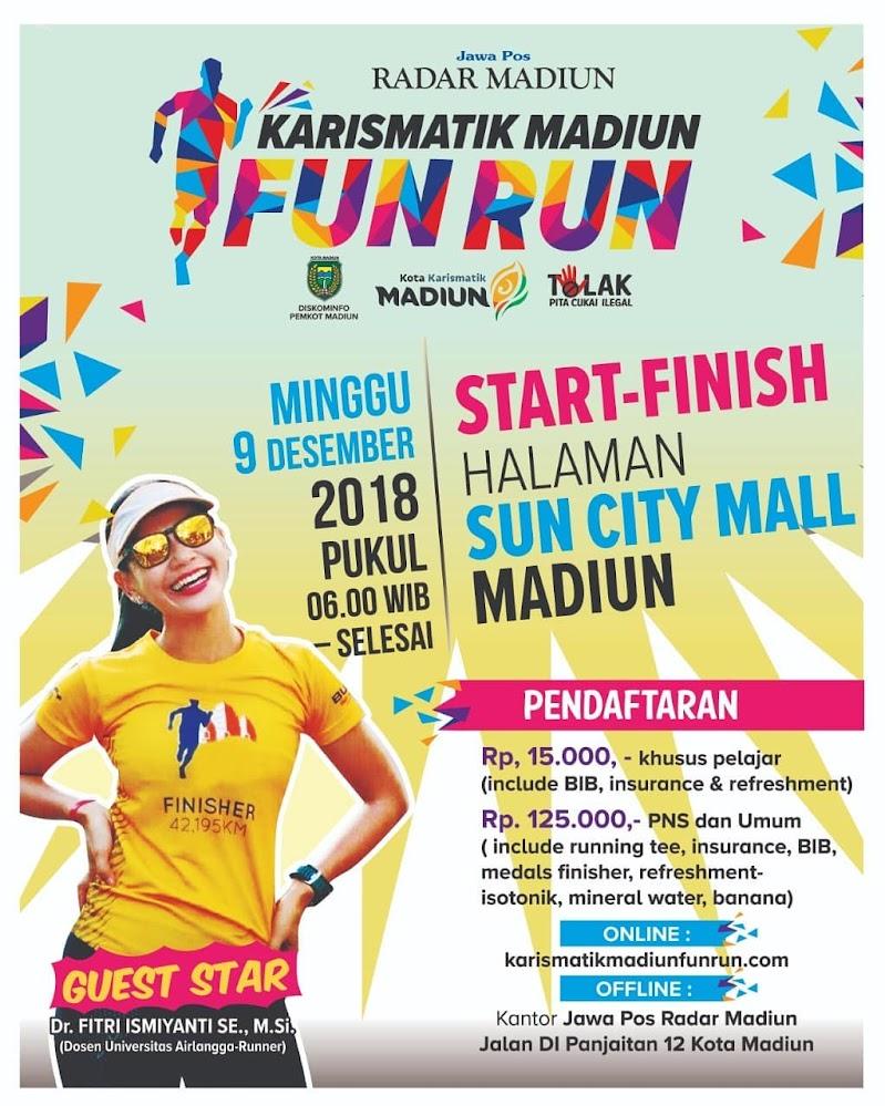 Karismatik Madiun Fun Run • 2018