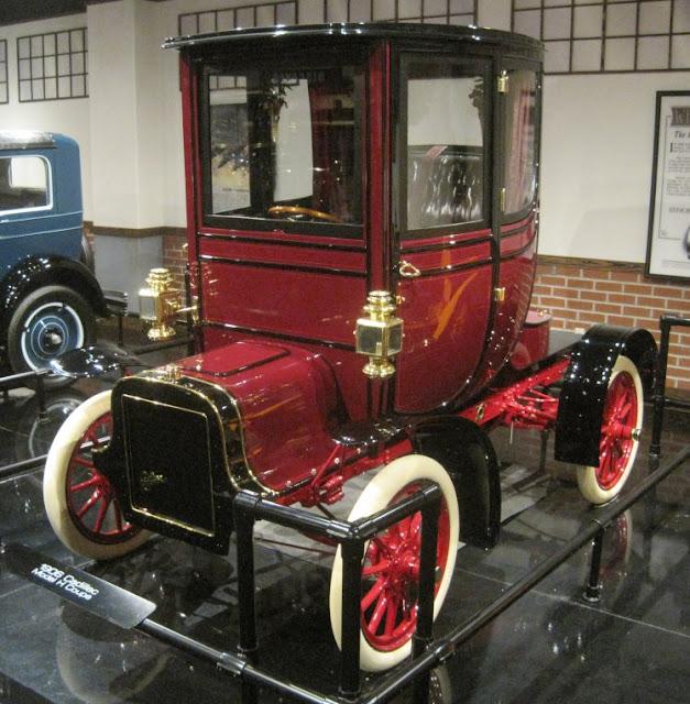 Just A Car Guy: Cadillac Osceola, 1906. 1st Step From