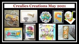 Overzicht van een aantal creaties gemaakt door Crealies design-teamleden en gastdesigners. Overview of a number of creations made by Crealies design-team-members and guest-designers.