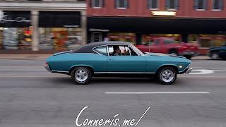 Draggin Douglas Classic Blue Chevrolet Chevelle 1