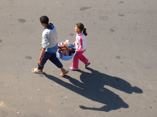 Eid el Kebir Maroko. Dzieci