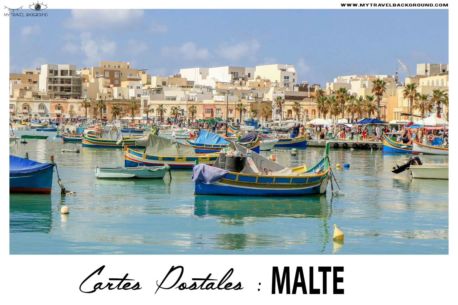 My Travel Background : cartes postales de Malte