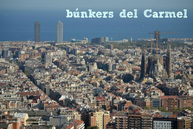 fotografia bunkers del carmel