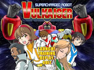Supercharged Robot Vulkaiser, Astro Port, Nyu Media, Critique Jeux Vidéo, Jeux Vidéo, Shoot'em up,