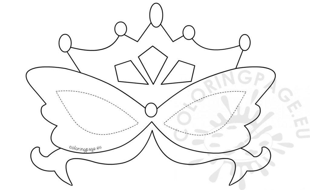 te cuento yo mi vida: imagen para colorear la mascara y la corona ...