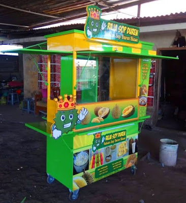 Gerobak unik-Booth minuman-Booth minuman unik - Gerobak murah