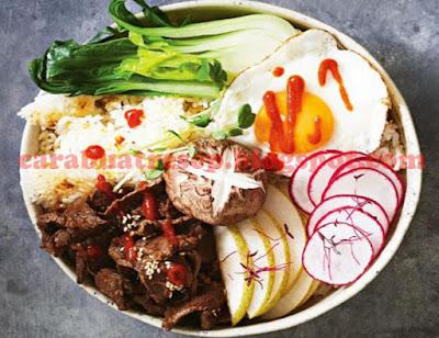 Foto Korean Beef Bulgogi Bowl