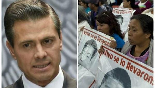 43 razones de un sobreviviente de Ayotzinapa para exigir cárcel a Enrique Peña Nieto ¿Estas de acuerdo?