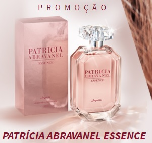 Cadastrar Promoção Patrícia Abravanel Essence Concorra Novo Perfume Jequiti