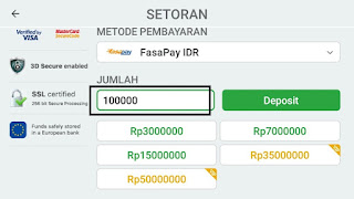 cara deposit saldo iq option