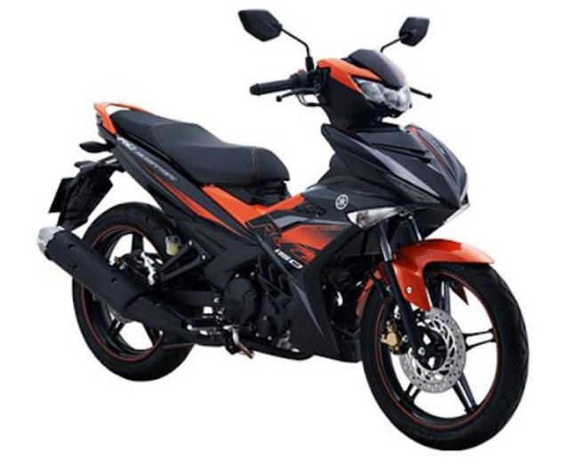 New Yamaha MX King 2019 Warna Baru Orange