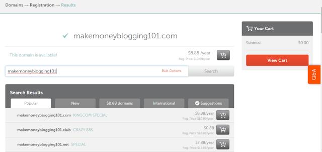 domain+search