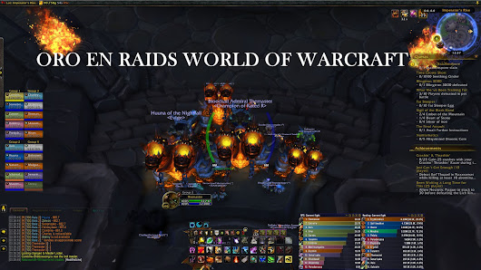 Oro en raids world of warcraft