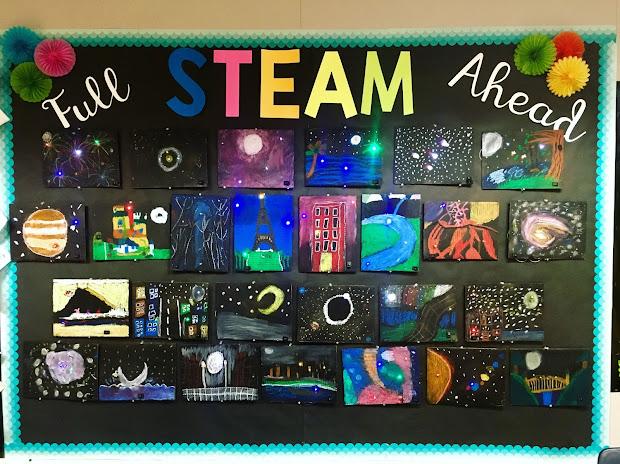 Creative Colorful Classroom