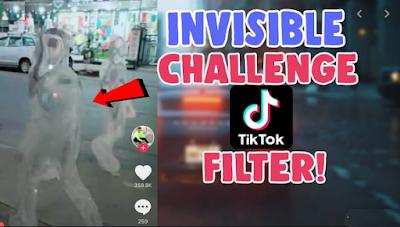 Tiktok invisible challenge || Cara melakukan Tiktok invisible challenge