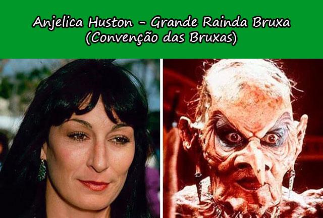 Anjelica Huston - Grande Rainda Bruxa (Convenção das Bruxas)
