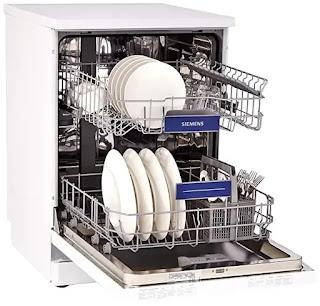 Siemens 12 Place Settings Dishwasher Interior