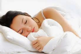 Menikmati tidur dengan tenang
