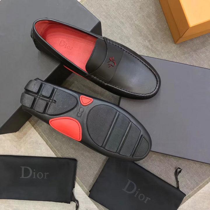 Giày lười nam Dior đế bệt siêu cấp GNDI-879
